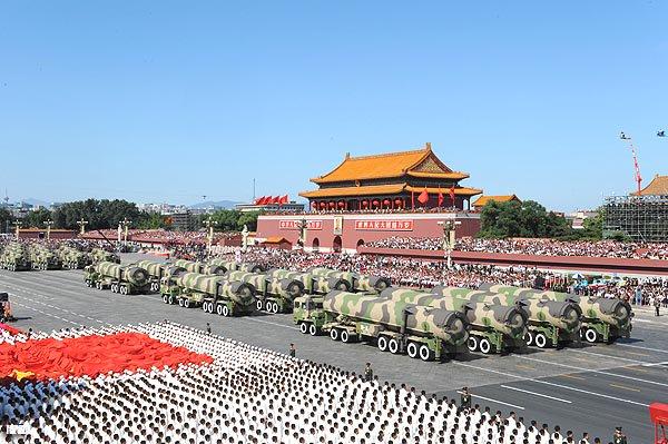 China hace más practicas nucleares que EEUU