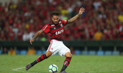 Paolo Guerrero, delantero peruano del Flamengo de Brasil. EFE