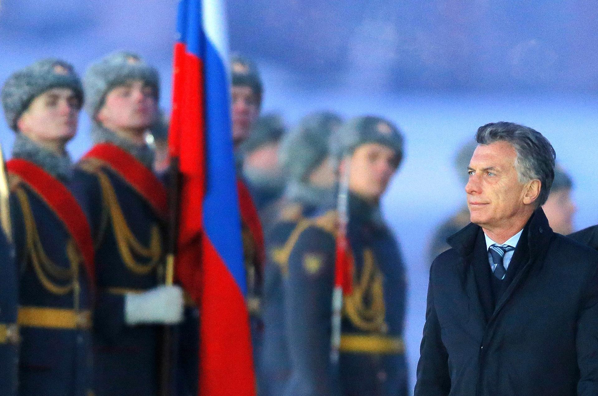 Presidente Mauricio Macri podría viajar a Rusia dependiendo de la selección Argentina