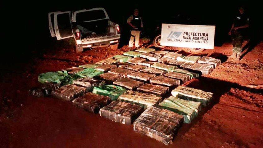 Argentina incautan dos toneladas de marihuana