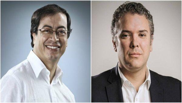 Duque y Petro lideran encuesta presidencial en Colombia