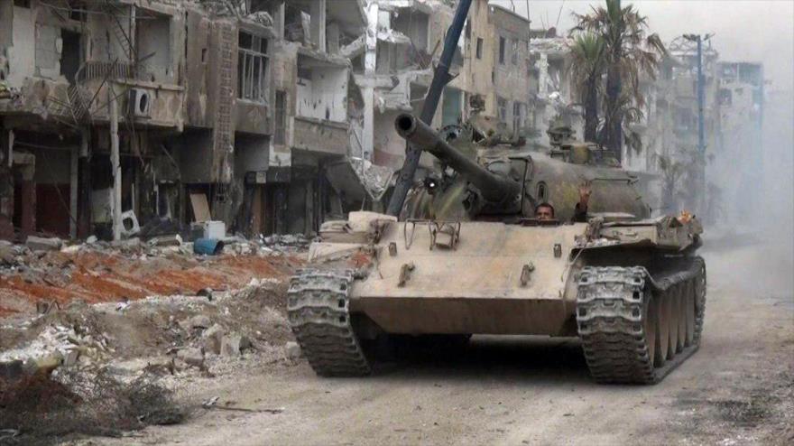 Ejercito Sirio Llevara a Isis a la Aniquilación en Damasco