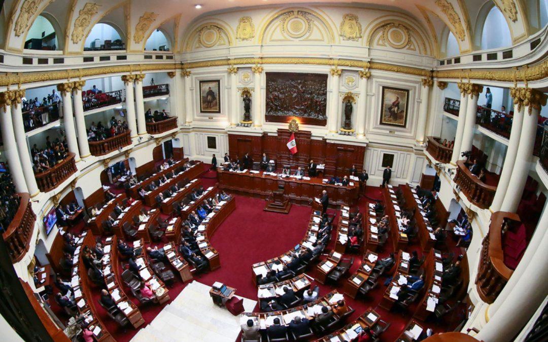 Congreso oficializa el ampliamiento la legislatura hasta el 19 de Junio