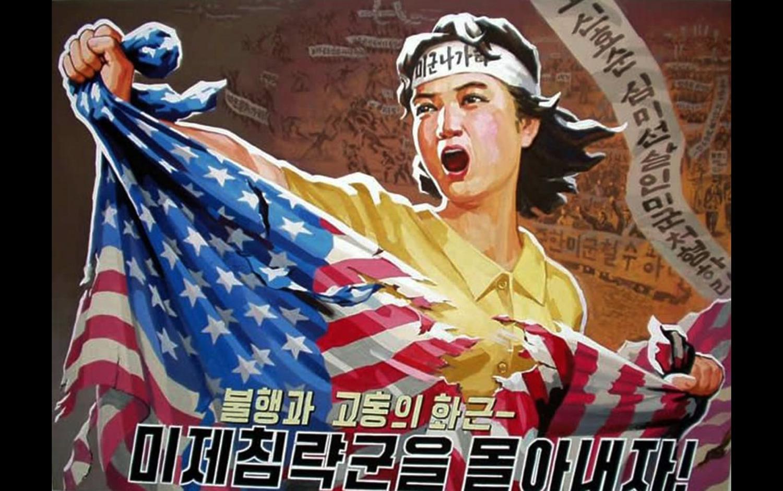 Propaganda oficial Norcoreana ya no muestra agresividad hacia Estados Unidos