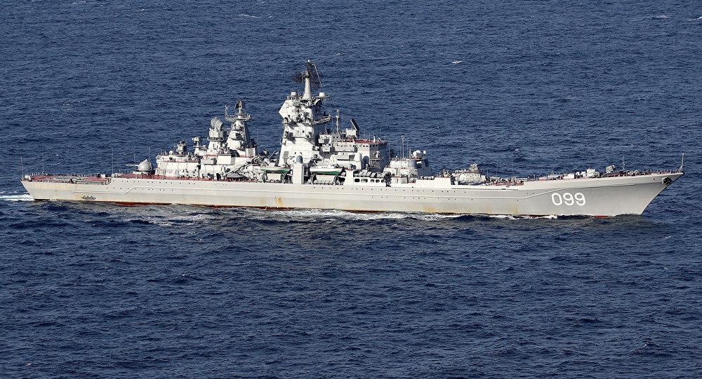 Destructor británico sigue a un buque ruso por creer que era un espía