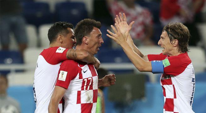 VÍDEO. Croacia derrota a Nigeria con autoridad y buen Futbol