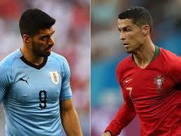 Todo preparado. Uruguay y Portugal se ven las cara en un gran duelo