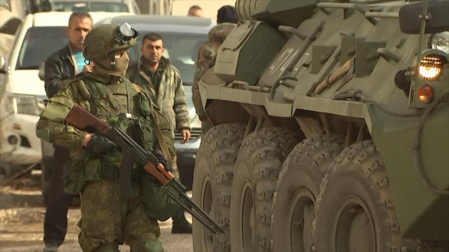 Rusia afirma que apoyará a Siria en la lucha contra el terrorismo en la zona sur oeste del país