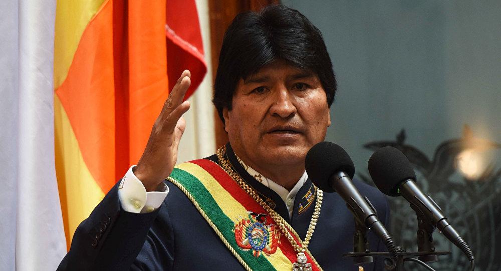Morales afirma que Trump se encuentra aislado tras un muro de racismo