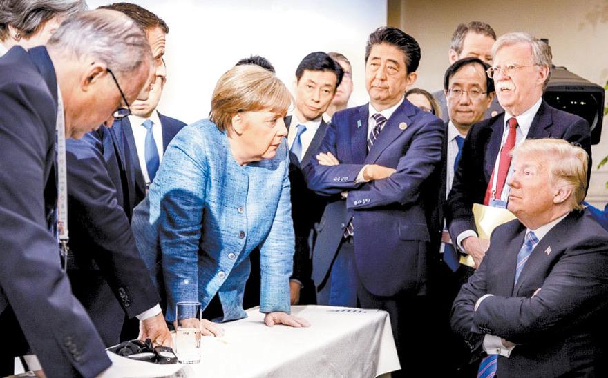 Aliados europeos enardecidos con Trump ante el desplante del G7
