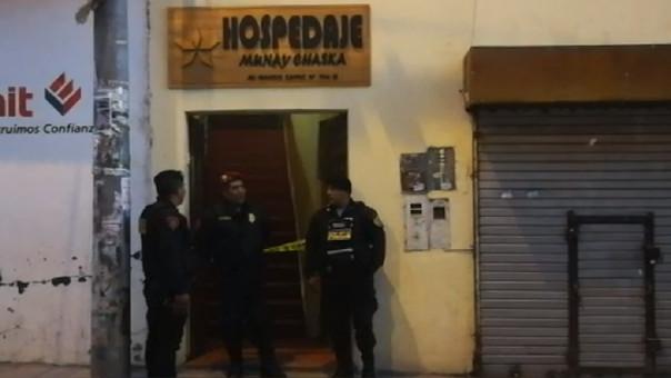 Mujer fue brutalmente asesinada en hostal en cusco