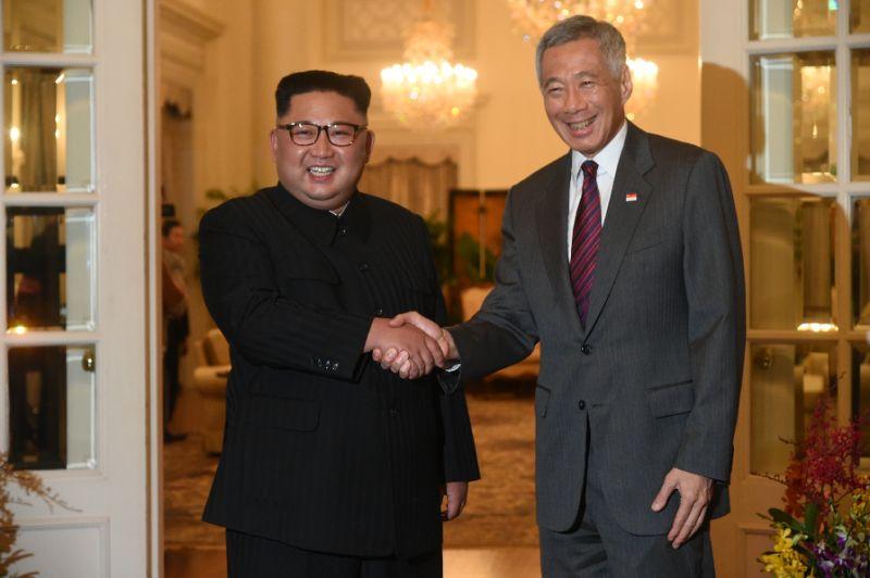 VÍDEO, La Reunion entre Kim Jong-un y el primer Ministro de Singapur