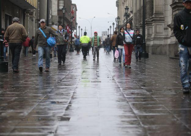 En este invierno la temperatura de la capital podría disminuir hasta de 12 Grados. Perú