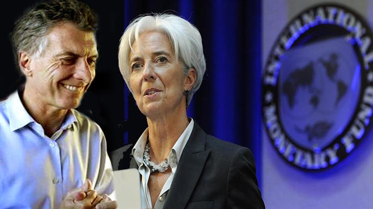 Macri se baja los pantalones ante el FMI por 50.000 millones de dolares