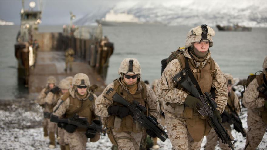 EEUU planea aumentar dramáticamente su presencia militar en Noruega para oprimir a las gran Rusia de Putin