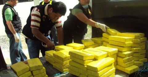 En lo que va del año se han incautado más de 27 toneladas de droga en Perú