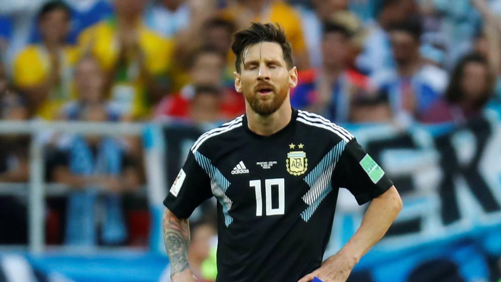 Messi admite su culpabilidad por el empate ante Islandia