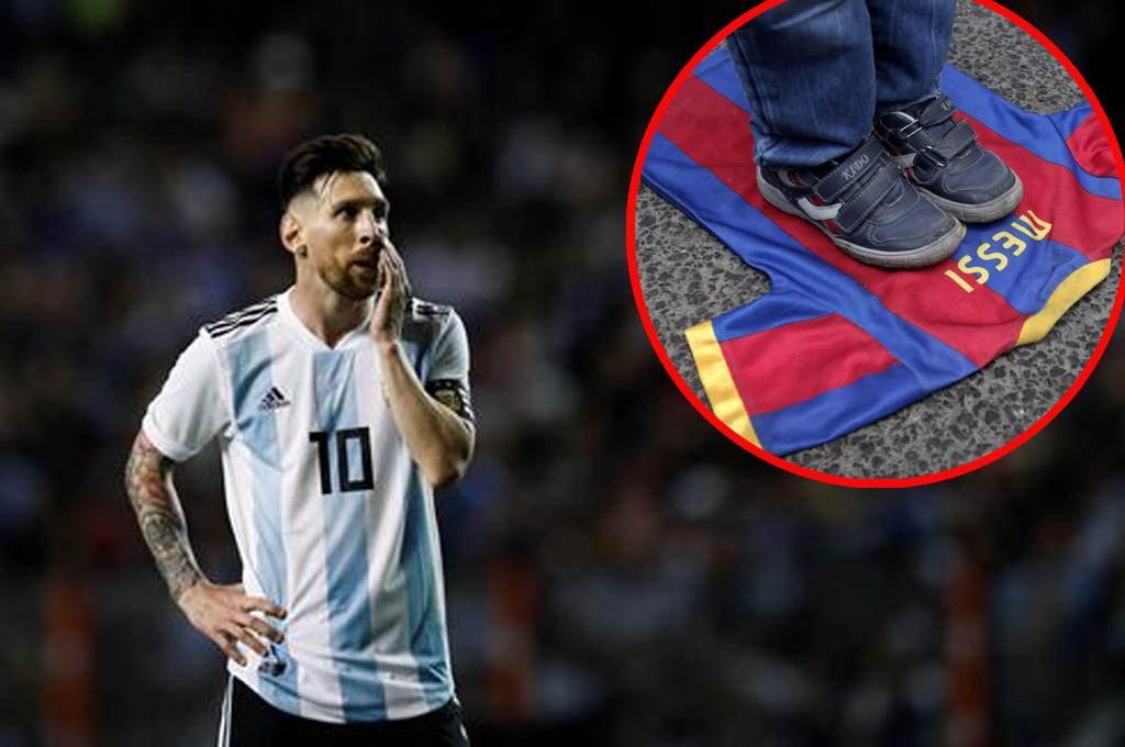 Leonel Messi provoca la furia de la federación Palestina de fútbol