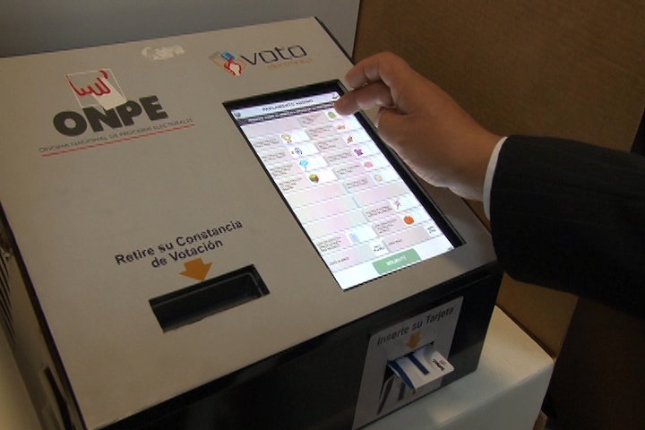 Elecciones en Perú: Se implementará el voto electrónico a cinco nuevos distritos en Lima