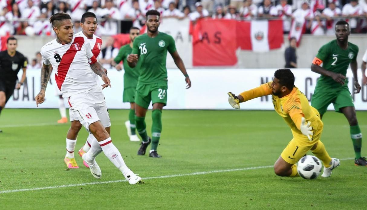 Peru vence 3-0 a Arabia Saudita con Golazos de Paolo Guerrero