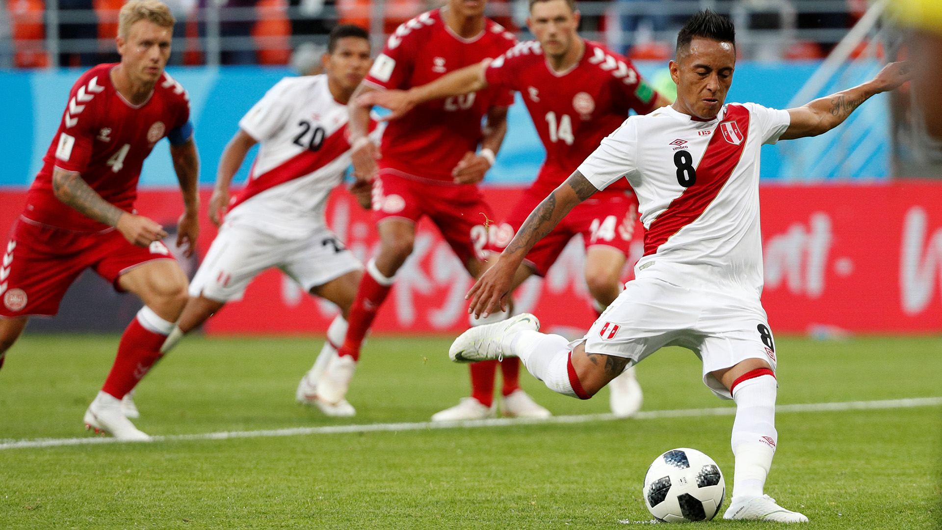 Rusia 2018 | Perú pierde 1-0 con Dinamarca; Cueva falló un penal (VÍDEO)