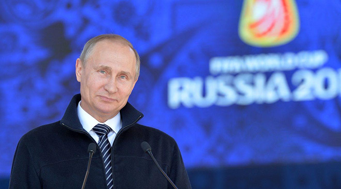 VÍDEO. Putin da la bienvenida oficial a los fans y equipos del Mundial 2018