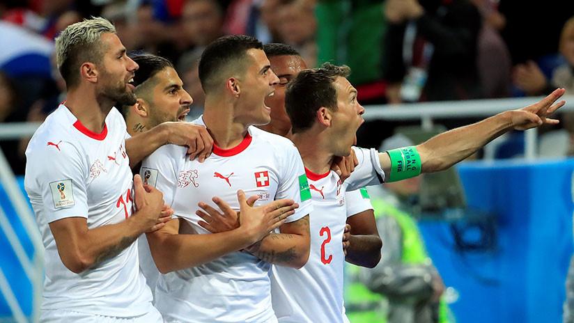 VIDEO. Suiza se lleva la victoria ante Serbia en importante partido del grupo E.