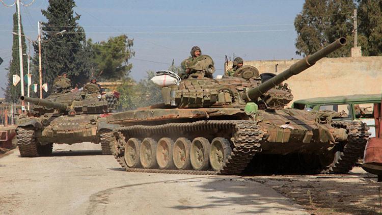 Poderosa defensa Siria repele ataques terroristas con gran facilidad en Deir Ezzor