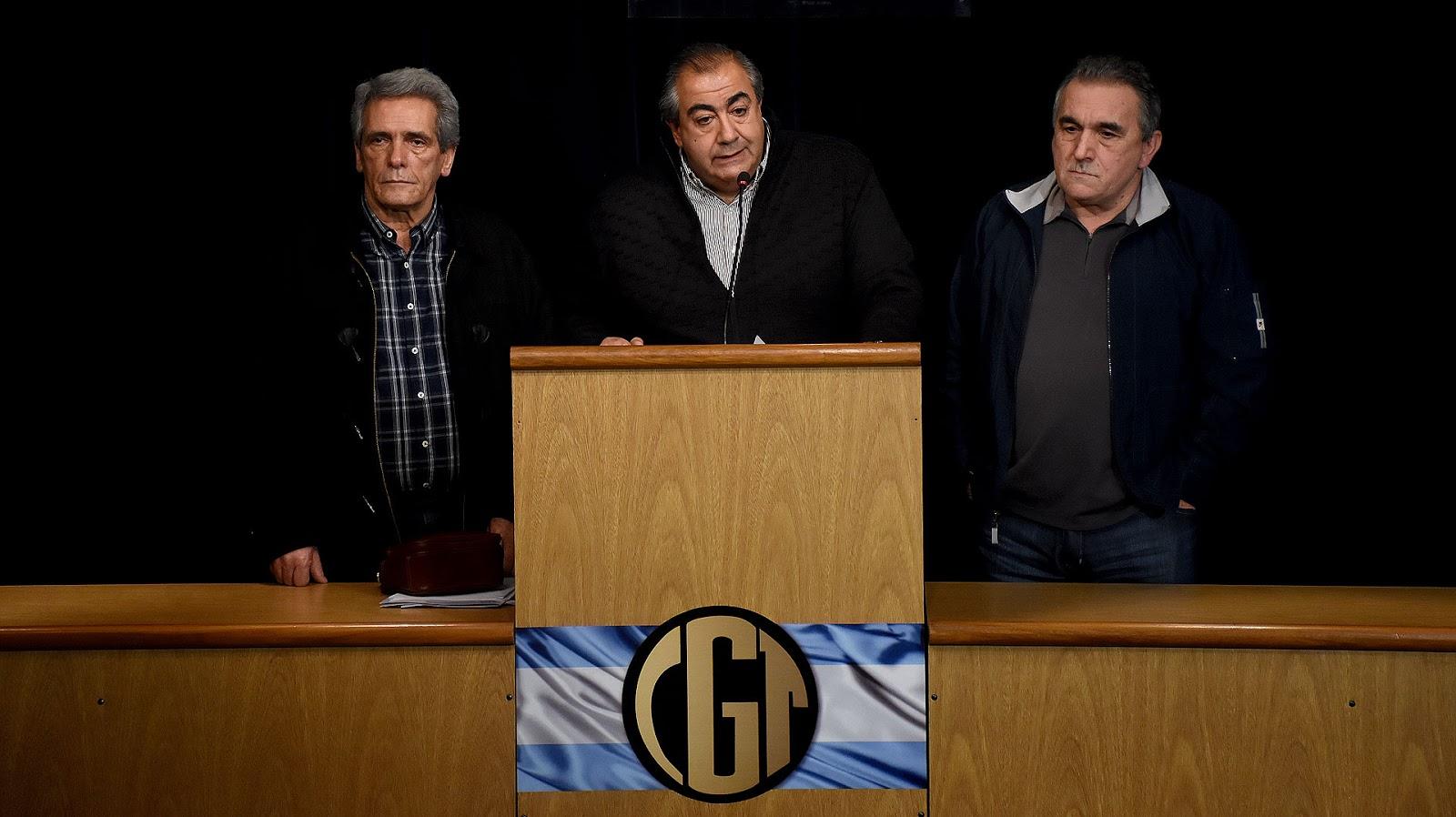 La CGT cancelo las elecciones y acordó mantener el triunvirato