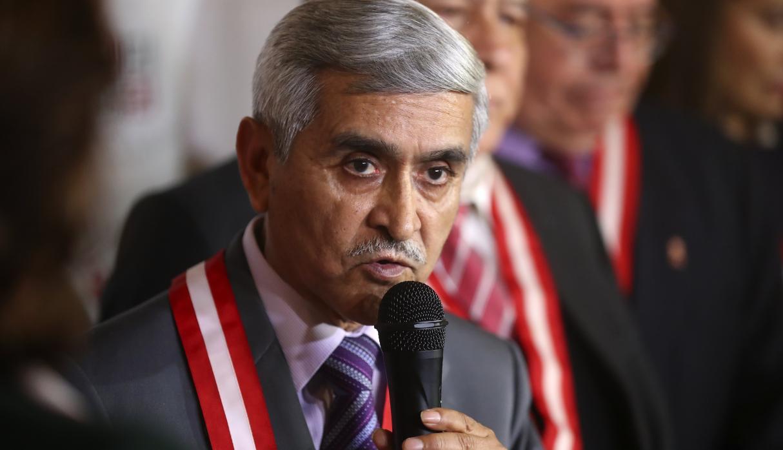 Renuncio el presidente del Poder Judicial Duberlí Rodríguez
