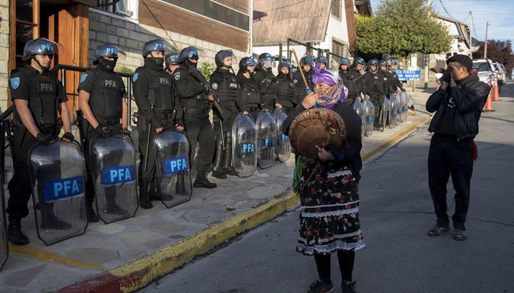Otro enfrentamiento entre  fuerzas federales y un grupo de mapuches