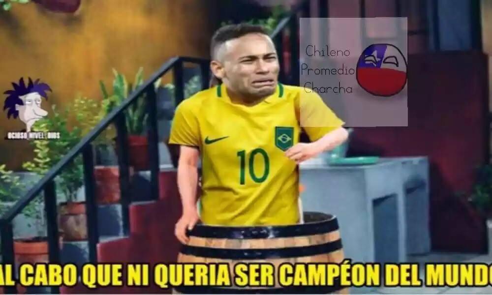 ¡No dejan de llover! Continúan los memes con la derrota de Brasil ante Bélgica en el Mundial de Rusia 2018
