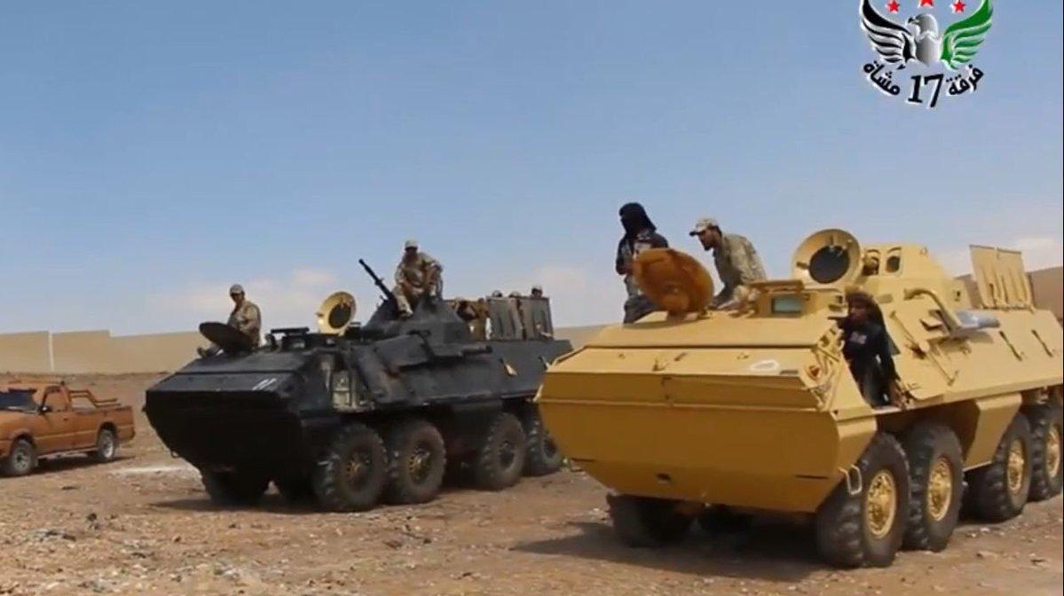 Tropas sirias capturan vehiculos de la OTAN en manos de Terroristas