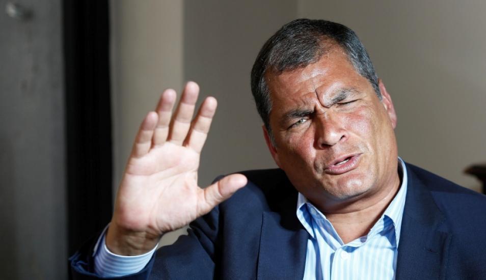 Rafael Correa es amenazado de muerte en Bélgica por periodista de derecha