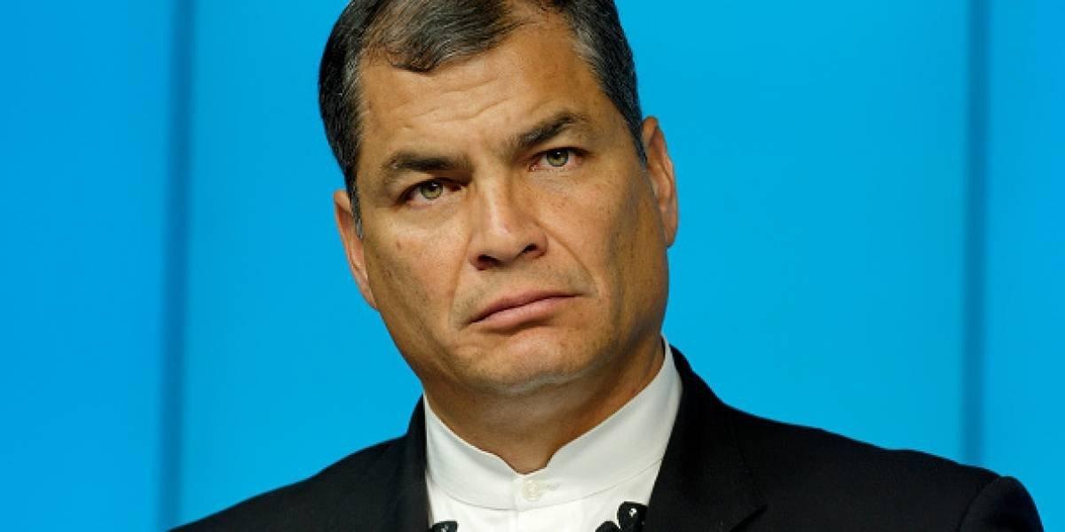 Fiscalía de Ecuador solicita prisión para Rafael Correa
