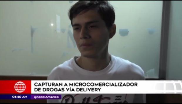 Perú: Es detenido hombre que vendía cocaína y marihuana  vía deliveri