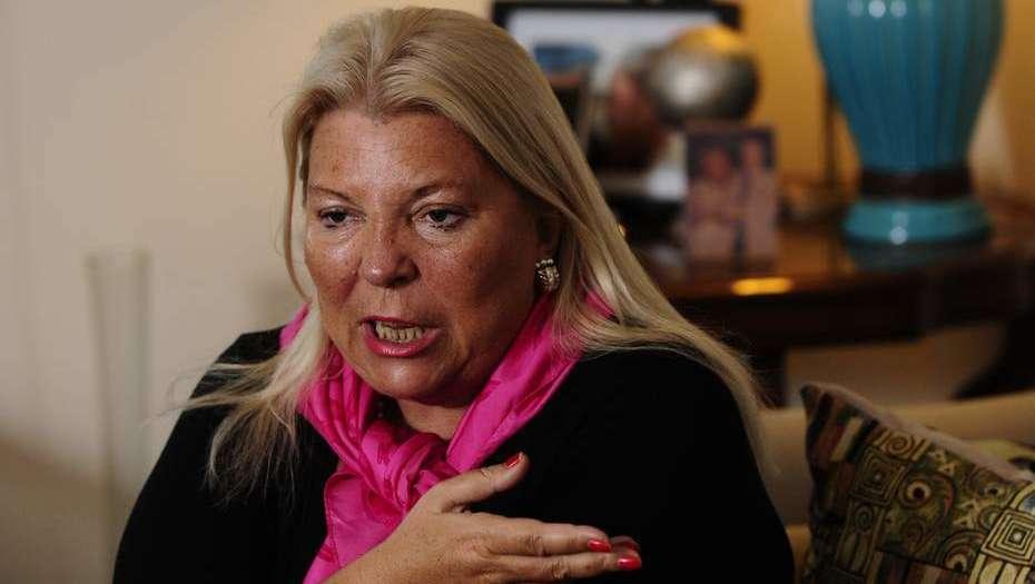 Argentina: Carrió pierde seriedad y dice que cuando pidió la renuncia de Garavano sólo bromeaba