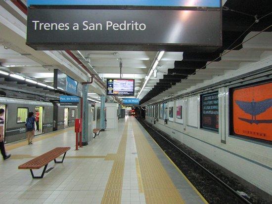 A partir de hoy la estación subterranea de Plaza de Mayo cerrará sus puertas por tres meses. Argentina
