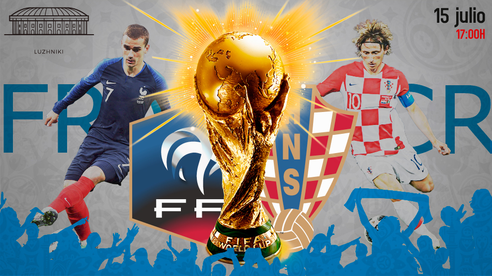 Francia se lleva la copa del mundo Rusia 2018 con un contundente triunfo ante Croacia