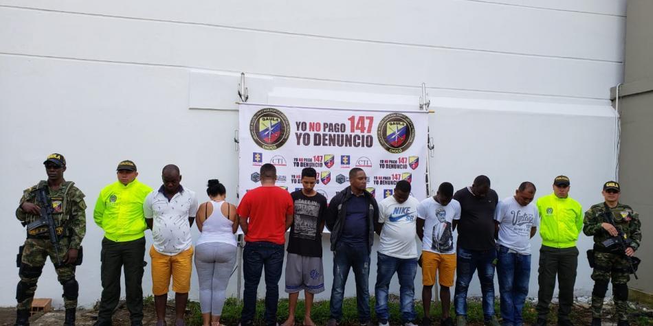 Capturados 11 peligrosos Narcotraficantes del mortal Clan del Golfo. Colombia