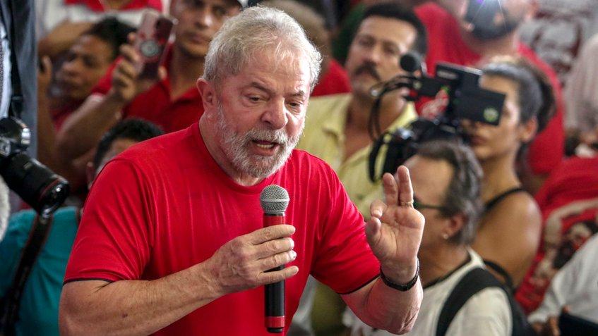 Lula afirma que sera candidato a la presidencia de Brasil pese a estar preso