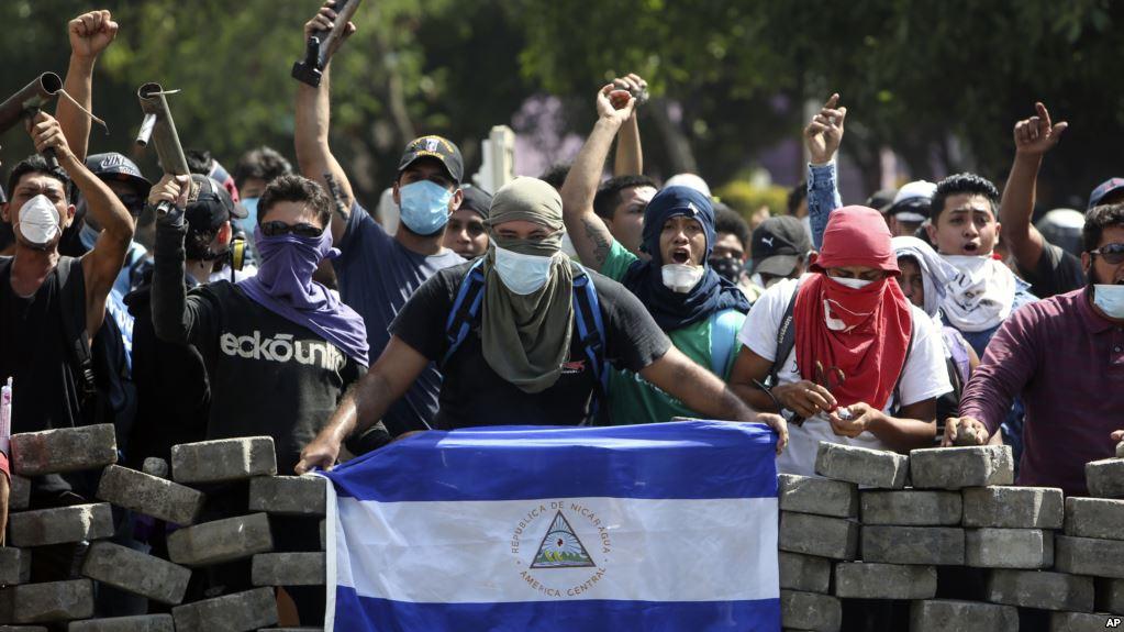 Nicaragua anuncia que no permitirá que los violentos tomen el poder