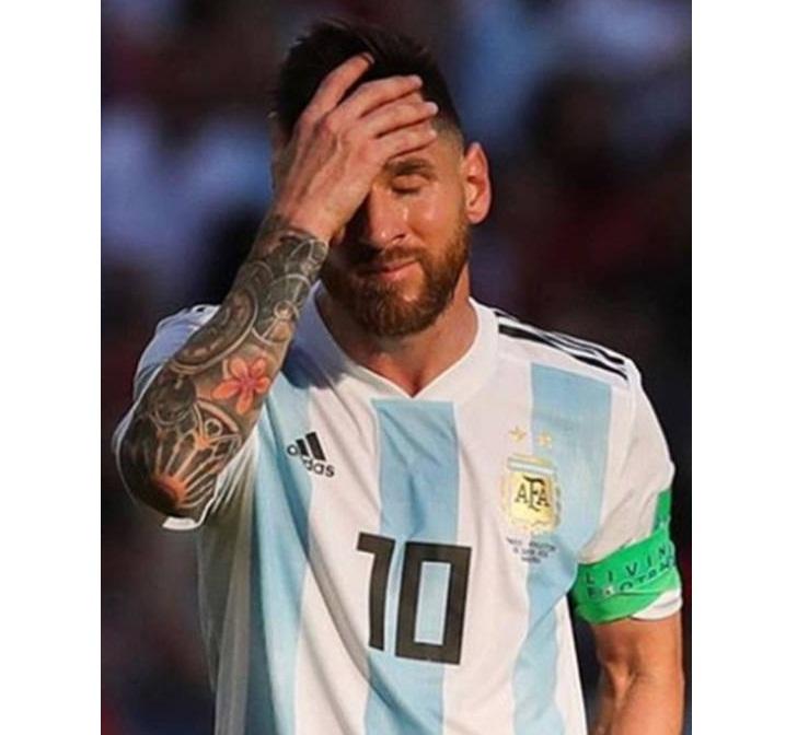 Messi fuera de la selección Argentina por lo que resta del año