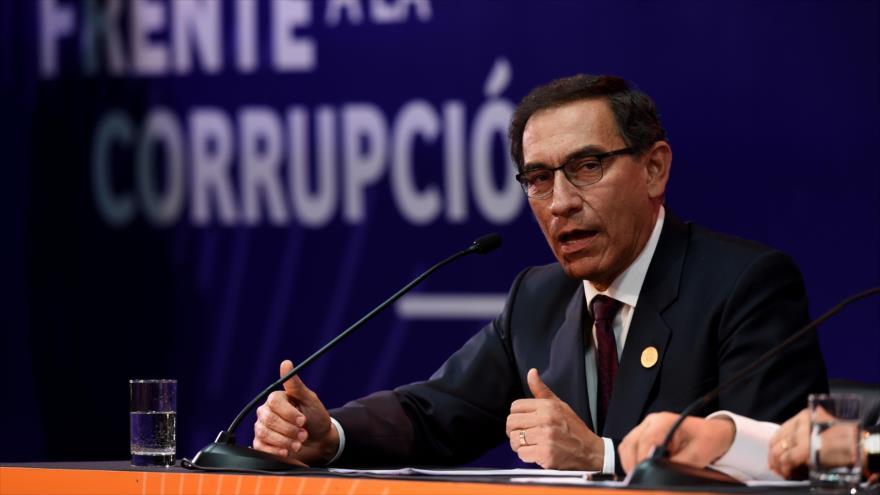 Perú. Martín Vizcarra suspende al ministro de Justicia por audios escandalosos