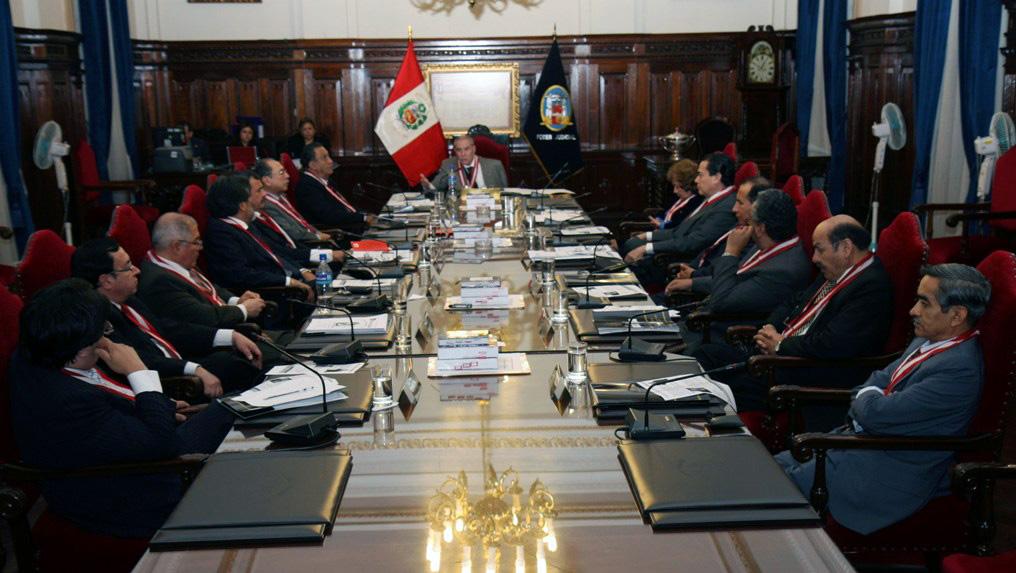 El proximo 25 de Julio la Sala Plena elegirá al nuevo Presidente del Poder Judicial