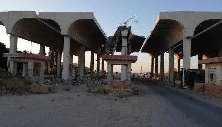 VÍDEO. Ejercito Sirio Libera carretera damasco Jordania (Cruce de De Nasib)
