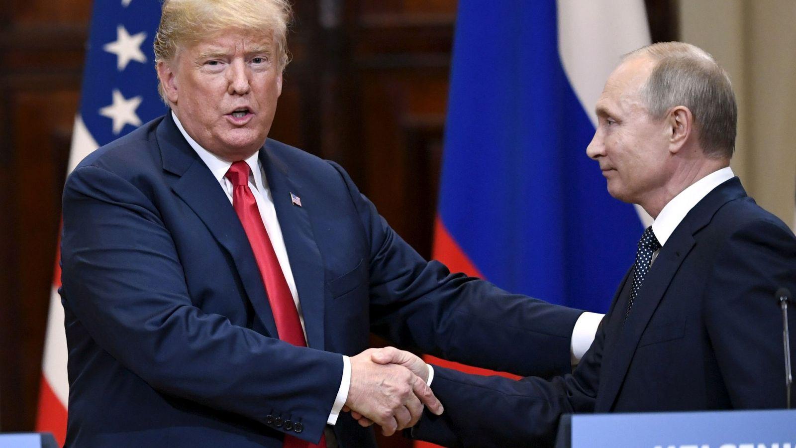 Trump expresó que fue mejor el encuentro con Putin que con la OTAN