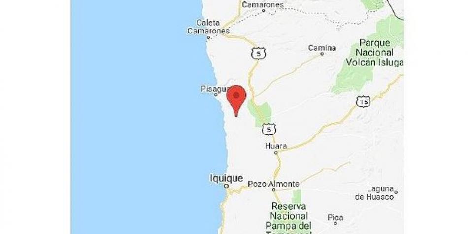 En Tacna Perú se siente Sismo de 5.2 grados