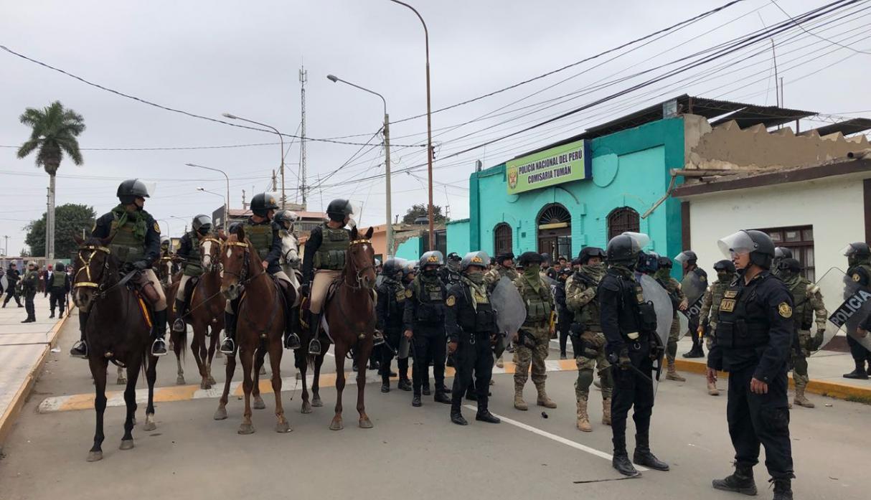 VIDEO. 5 heridos tras ingreso de administradores tuman Perú