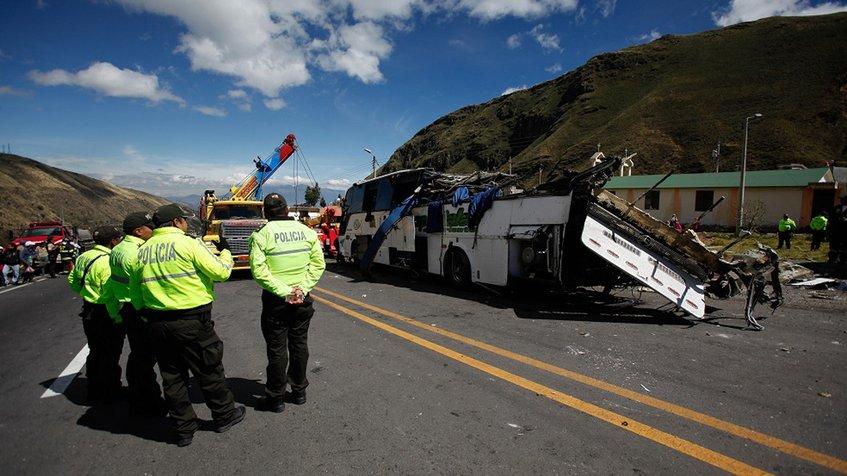 En ecuador se extiende la epidemia de muertes por accidentes viales.